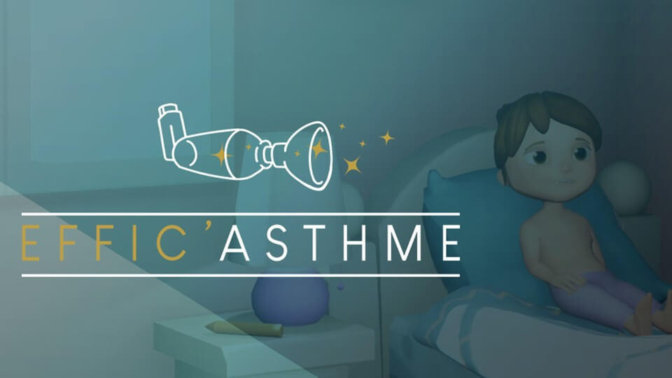 Effic'Asthme : premier serious game destiné à la gestion des enfants asthmatiques | Paris Descartes