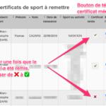 Remise-certificat-medical-de-sport-par-la-secretaire
